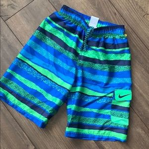 Boys large Nike swim trunks